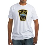 Fall River Police Fitted T-Shirt