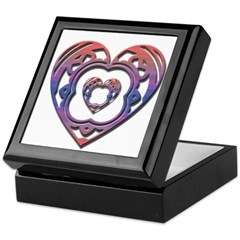 Open Heart Keepsake Box