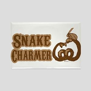 Snake Charmer Rectangle Magnet