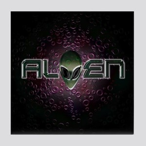 ALIEN Logo T04 Tile Coaster