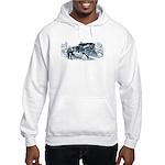 2-IMAGE-RAILROAD OUTRAGE Hooded Sweatshirt
