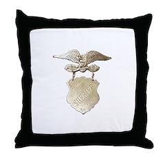 Storey County Sheriff Throw Pillow