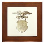 Storey County Sheriff Framed Tile