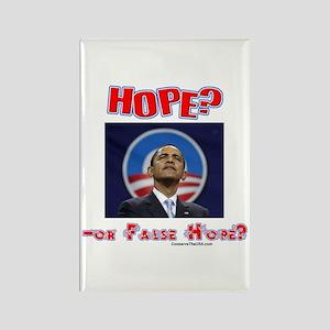 """Hope Or False Hope?"" Rectangle Magnet"