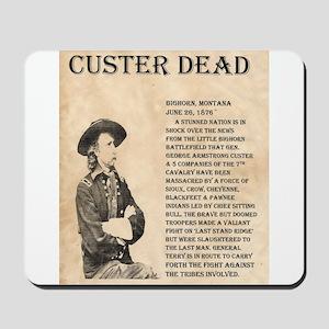 General Custer Mousepad
