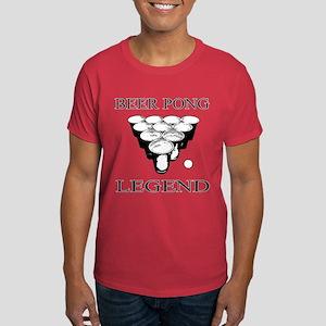 Beer Pong Legend Dark T-Shirt