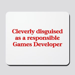 Games Developer Mousepad
