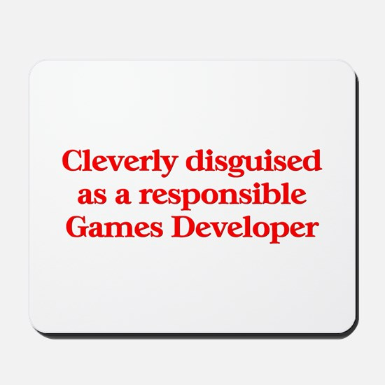 Games Developer Mousepad
