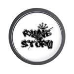 Rayne Storm Wall Clock