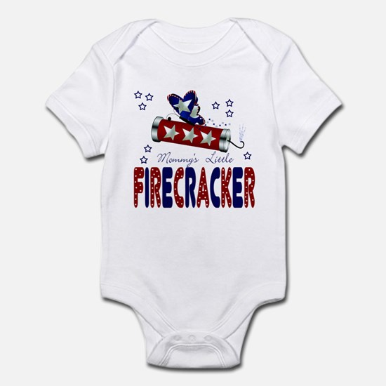 Mommy's Little Firecracker Baby Infant Bodysuit