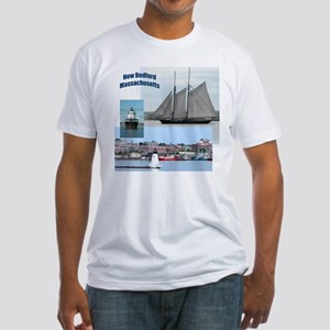 New Bedford Harbor Fitted T-Shirt