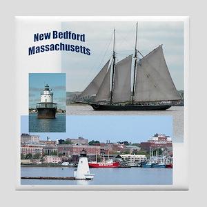 New Bedford Harbor Tile Coaster