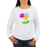 Cute Bouquet Women's Long Sleeve T-Shirt