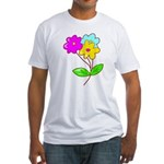 Cute Bouquet Fitted T-Shirt