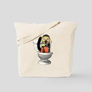 Funny Scuba Diver Tote Bag