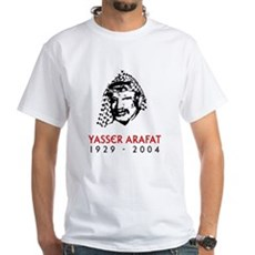 Yasser Arafat White T-Shirt