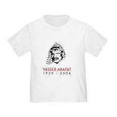 Yasser Arafat Toddler T-Shirt