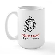 Yasser Arafat Large Mug