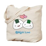 Onigiri Love Tote Bag