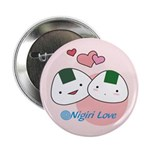 "Onigiri Love 2.25"" Button"