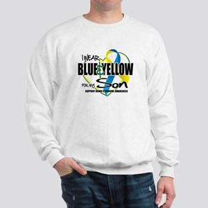 Blue & Yellow for Son Sweatshirt