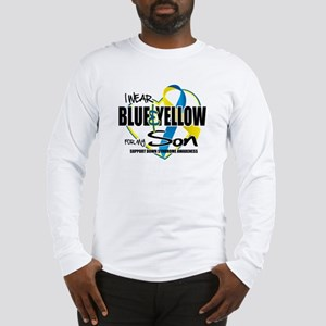 Blue & Yellow for Son Long Sleeve T-Shirt