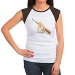 Baseball Gift Women's Cap Sleeve T-Shirt