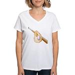 Baseball Gift Women's V-Neck T-Shirt