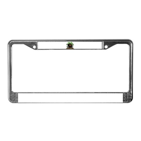 The Mighty Upsetter License Plate Frame