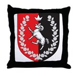 Queen of Gleann Abhann Throw Pillow