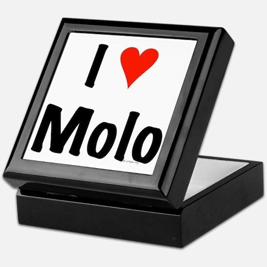 I love Molo Keepsake Box