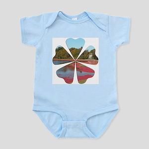 Cranberry Harvesting Infant Bodysuit