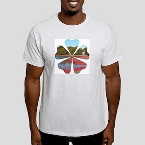 Cranberry Harvesting Light T-Shirt
