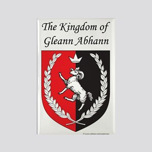 Kingdom of Gleann Abhann Rectangle Magnet