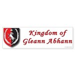 Kingdom of Gleann Abhann Bumper Sticker (10 pk)