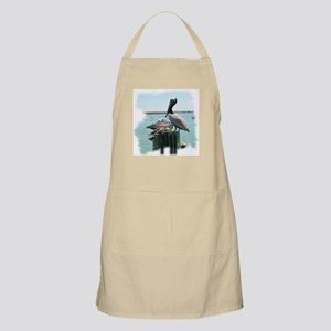 Brown pelican BBQ Apron