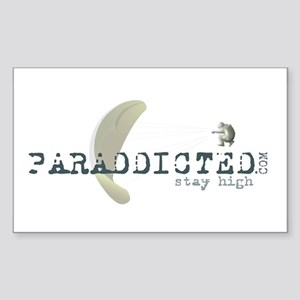 Paraddicted Rectangle Sticker