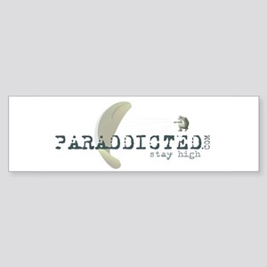 Paraddicted Bumper Sticker