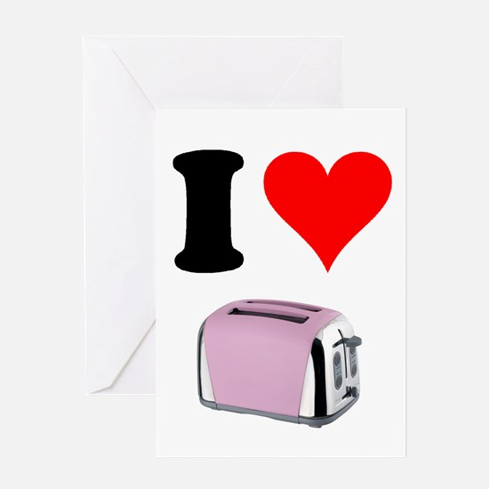 Cute Toaster Greeting Card