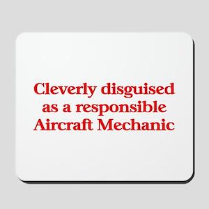 Aircraft Mechanic Mousepad