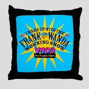 Frank & Wanda Throw Pillow