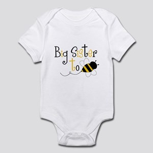Big Sister to Bee Infant Bodysuit
