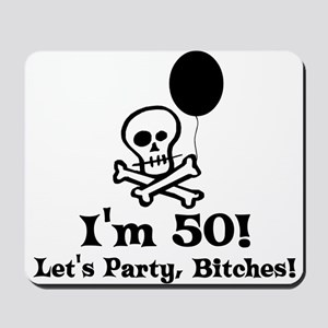50th Birthday Party Mousepad