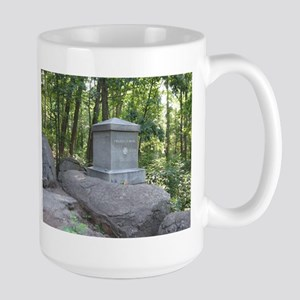 20th Maine on Little Round Top Large Mug
