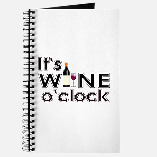 It's Wine O'Clock Journal