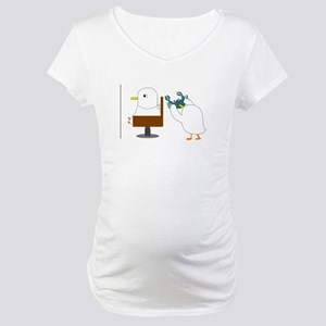 Haircut Maternity T-Shirt