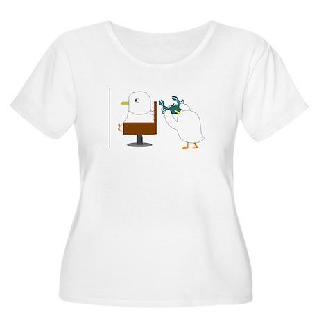 Haircut Women's Plus Size Scoop Neck T-Shirt