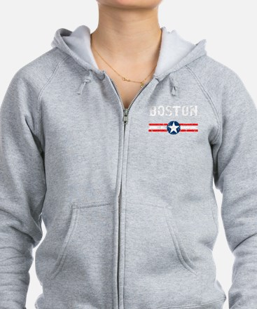 Boston USA Hooded Sweatshirt