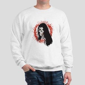 Ring of Death Skull Sweatshirt