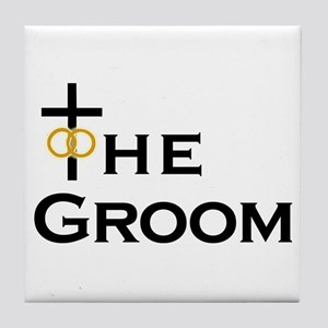 Christian Groom Tile Coaster